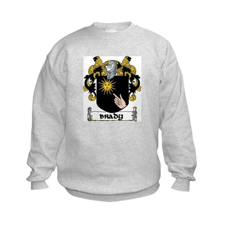 Brady Coat of Arms Kids Sweatshirt