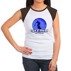 Gitmo Big Waves Women's Cap Sleeve T-Shirt