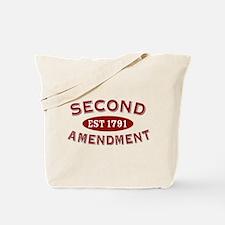 Second Amendment 1791 Tote Bag