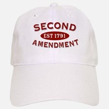 Second Amendment 1791 Baseball Baseball Cap