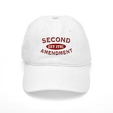 Second Amendment 1791 Baseball Cap