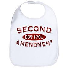 Second Amendment 1791 Bib