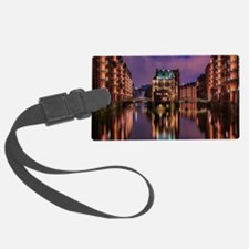 Unique Germany hamburg Luggage Tag