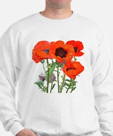 Red Poppies Sweater
