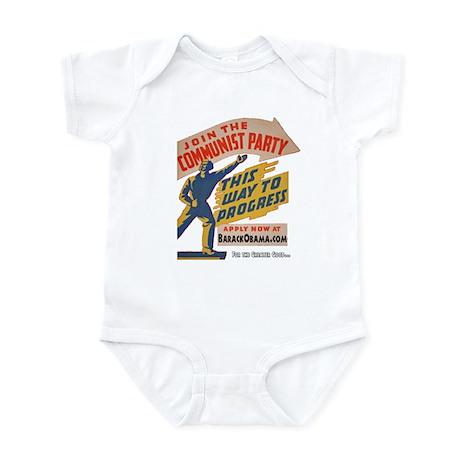 Join The Communists! Infant Bodysuit