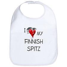 Finnish Spitz Bib