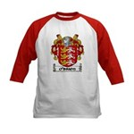 O'Brien Coat of Arms Kids Baseball Jersey