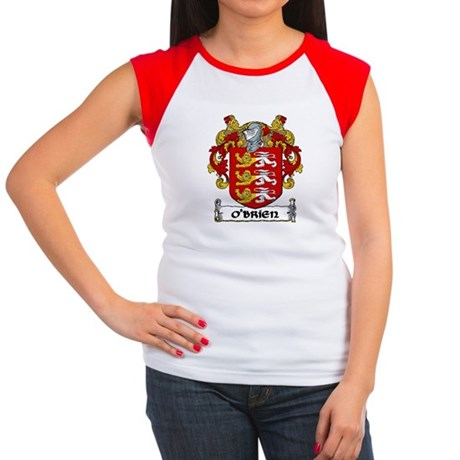 O'Brien Coat of Arms Women's Cap Sleeve T-Shirt