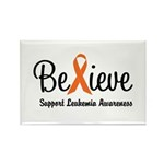 Believe (Leukemia) Rectangle Magnet (10 pack)