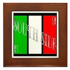 South Side Italian Framed Tile