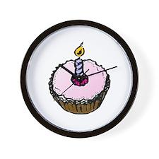 Cupcake! Wall Clock
