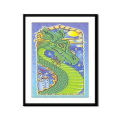 The Dragon Framed Print