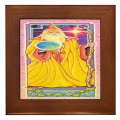 The Wizard Framed Tile