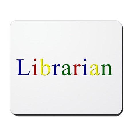 Librarian - The Original Goog Mousepad