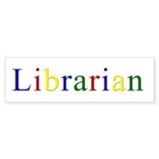 Librarian - The Original Goog Bumper Bumper Bumper Sticker