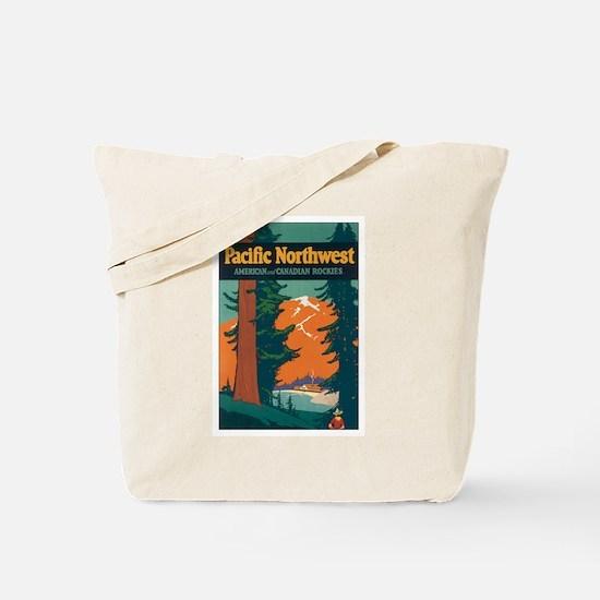 Pacific Northwest Tote Bag