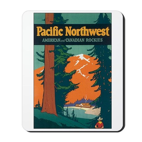 Pacific Northwest Mousepad