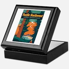 Pacific Northwest Keepsake Box