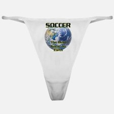 Soccer Earth Classic Thong