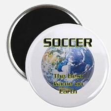 Soccer Earth Magnet