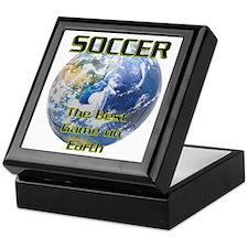 Soccer Earth Keepsake Box