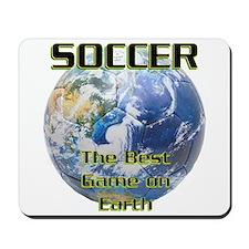 Soccer Earth Mousepad