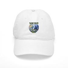 Soccer Earth Baseball Cap
