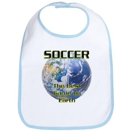 Soccer Earth Bib