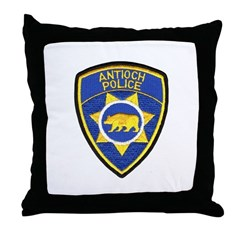 Antioch Police Department Throw Pillow