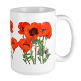 Floral Large Mugs (15 oz)