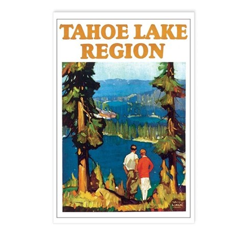 Lake Tahoe Postcards (Package of 8)