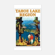 Lake Tahoe Rectangle Decal