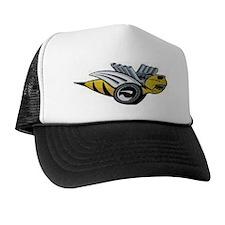 Neon Bee Trucker Hat