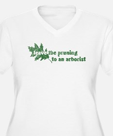 Leave Pruning Arborist T-Shirt