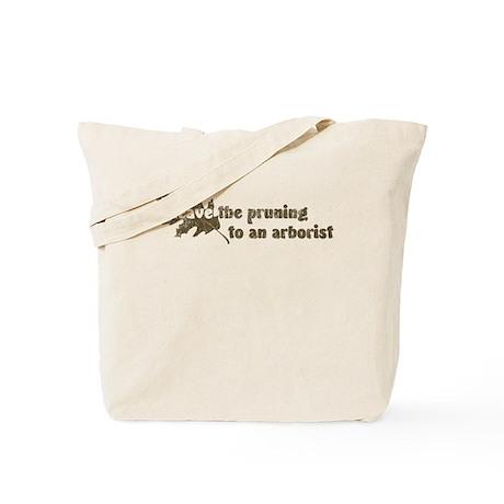 Leave Pruning Arborist Tote Bag