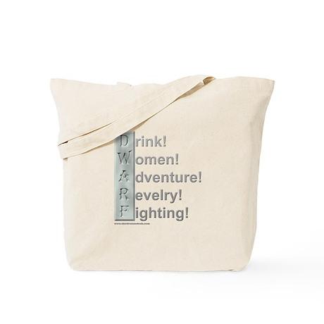 D.W.A.R.F. (Pro) Tote Bag