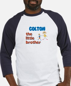 Colton - The Little Brother Baseball Jersey