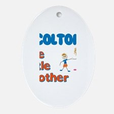 Colton - The Little Brother Oval Ornament
