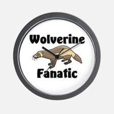 Wolverine Fanatic Wall Clock