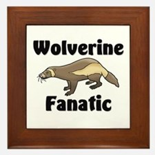 Wolverine Fanatic Framed Tile