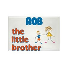Rob - The Little Brother Rectangle Magnet