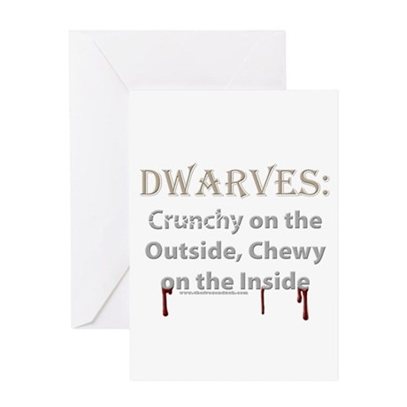 Crunchy Dwarves Greeting Card