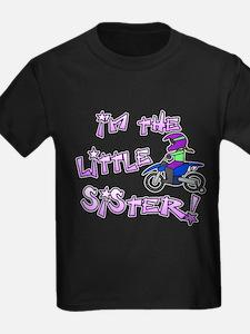 MX Little Sister Kids Black Tee