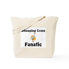 Whooping Crane Fanatic Tote Bag