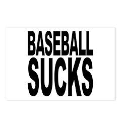 Baseball Sucks Postcards (Package of 8)