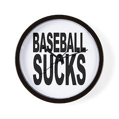 Baseball Sucks Wall Clock
