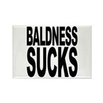 Baldness Sucks Rectangle Magnet (10 pack)