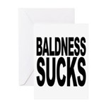 Baldness Sucks Greeting Card