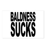 Baldness Sucks Postcards (Package of 8)