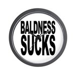 Baldness Sucks Wall Clock